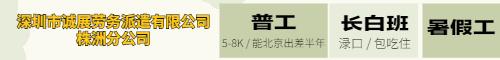 深圳市诚展劳务派遣有限公司株洲分公司